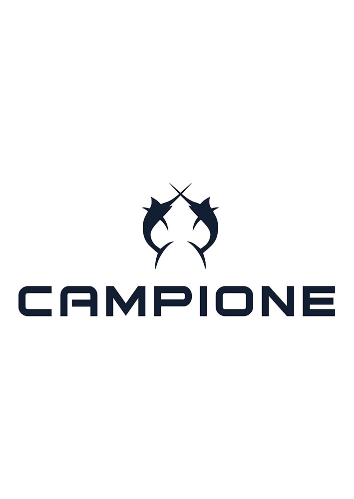 Campione Logo black on white