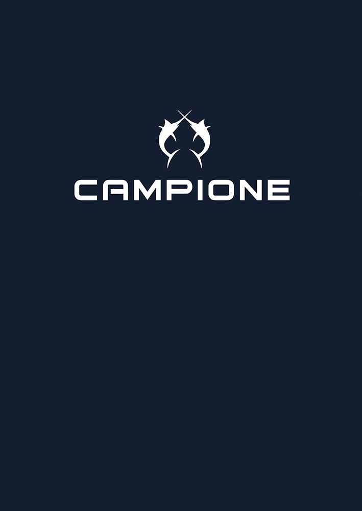 CAMPIONE Logo white on black